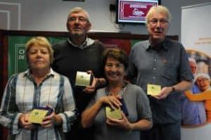Comité de bridge de l'Orléanais Gagnants Seniors 300x199