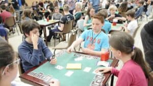 Comité de bridge de l'Orléanais joueurs jeunes bridge 300x169