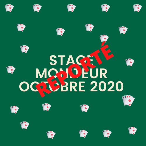 Report du Stage de Moniteur