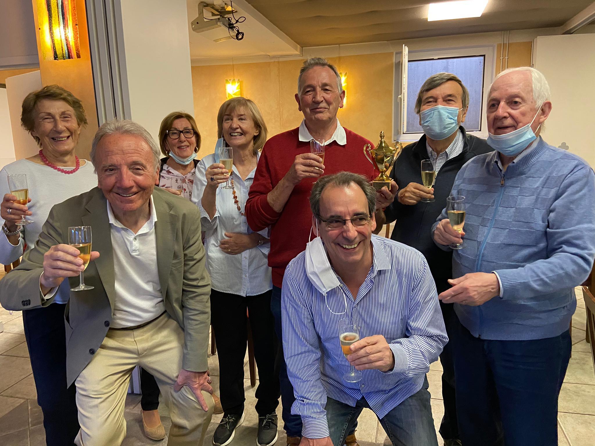 Read more about the article L'amitié entre l'ABO et le club de bridge de Lugano (Suisse – canton du Tessin) continue de grandir.