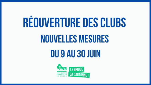Read more about the article Réouverture des clubs