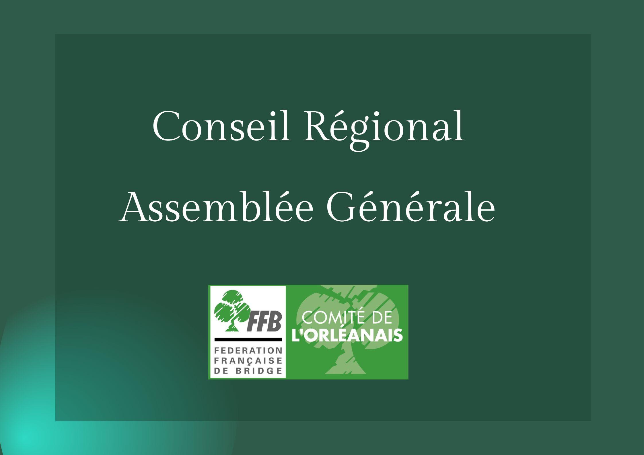 Read more about the article Conseil Régional et Assemblée Générale